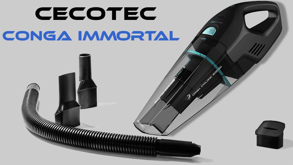Aspiradora de mano Conga Immortal ExtremeSuction 22,2 V