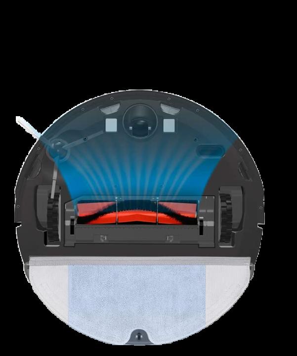 Xiaomi Roborock Xiaowa E2 ( E20 y E25 ). Robot aspirador. Parte inferior del robot de limpieza.