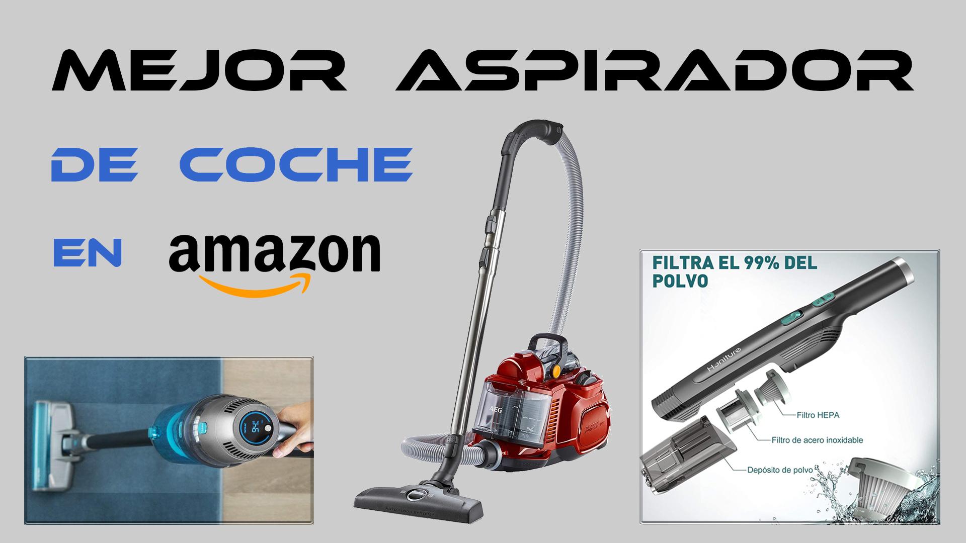 El mejor aspirador de coche en Amazon